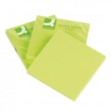 Бумага для заметок, Q-connect 76*76, 75 листов, зеленый неон