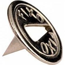 Кнопки оцинкованные стальные