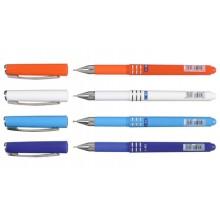 Ручка шариковая Linc Axo, корпус ассорти, стержень синий