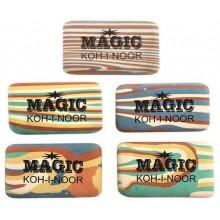 Ластик Magic, 44×23 мм, цветной