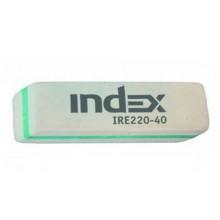 Ластик Index, 19×56×8 мм (цена за 1 шт.)