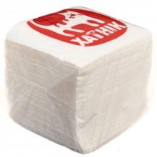 Салфетки сервировочные «Хатник», 23×23 см, 100 шт., белые