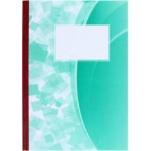 Книга учета «Красная звезда», 200×284 мм, 100 л., линия