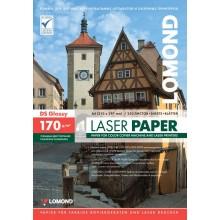Бумага для лазерной фотопечати глянцевая двусторонняя Lomond, А4 (210×297 мм), 170 г/м², 250 л., глянец,