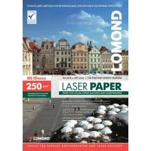 Бумага для лазерной фотопечати глянцевая двусторонняя Lomond, А4 (210×297 мм), 250 г/м², 150 л.