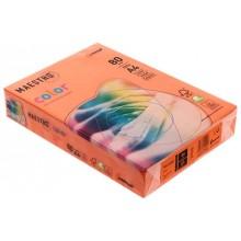 Бумага офисная цветная Maestro, А4 (210×297 мм), 80 г/м², 500 л., оранжевая