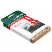 Бумага для струйной фотопечати глянцевая односторонняя Lomond, А6 (102×152 мм), 230 г/м², 50 л., односторонняя