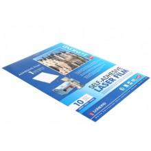 Самоклеящаяся пленка для лазерных принтеров Lomond, А4 (210×297 мм), 10 л., 78 г/м², матовая белая