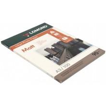 Бумага для струйной фотопечати матовая односторонняя Lomond, А3 (297×420 мм), 90 г/м², 100 л., односторонняя