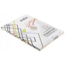 Бумага самоклеящаяся для изготовления этикеток Index, А4, 24 шт., 70×37 мм, белая, 100 л.