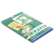 Бумага самоклеящаяся для изготовления этикеток Lomond, А4, 24 шт., 70×37 мм, матовая, красная