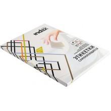 Бумага самоклеящаяся для изготовления этикеток Index, А4, 4 шт., 105×148 мм, белая, 100 л.