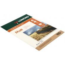 Бумага для струйной фотопечати матовая двусторонняя Lomond, А4 (210×297 мм), 100 г/м², 25 л., двусторонняя