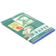 Бумага самоклеящаяся для изготовления этикеток Lomond, А4, 4 шт., 105×148,5 мм, матовая, красная