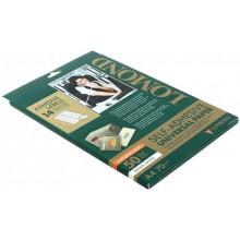 Бумага самоклеящаяся для изготовления этикеток Lomond, А4, 14 шт., 105×41 мм, матовая, белая