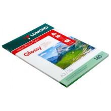 Бумага для струйной фотопечати глянцевая односторонняя Lomond, А3 (297×420 мм), 140 г/м², 50 л., односторонняя