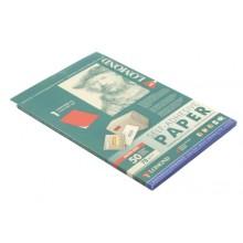 Бумага самоклеящаяся для изготовления этикеток Lomond, А4, 1 шт., 210×297 мм, матовая, красный неон