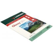 Бумага для струйной фотопечати глянцевая односторонняя Lomond, А4 (210×297 мм), 140 г/м², 25 л., односторонняя