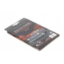 Бумага для струйной фотопечати односторонняя тисненая Revcol, А6 (100×150 мм), 200 г/м², 25 л., тиснение «эффект кожи»