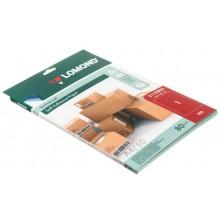 Бумага самоклеящаяся для изготовления этикеток Lomond, А4, 1 шт., 210×297 мм, матовая, красная