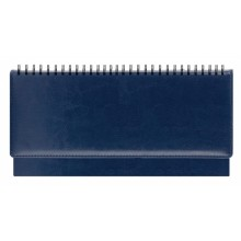 Еженедельник недатированный Berlin, 290×150 мм, 128 л., синий