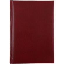 Ежедневник недатированный Carin, 150×212 мм, 160 л., бордо