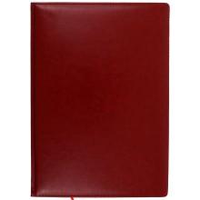 Еженедельник недатированный Classic, 210×295 мм, 72 л., линия, бордовый