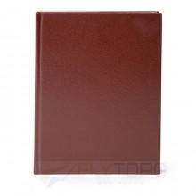 Ежедневник недатированный LITE  БУМВИНИЛ А5, 145×205 мм, 160 л., коричневый