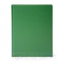 Ежедневник недатированный LITE  БУМВИНИЛ А5, 145×205 мм, 160 л., зеленый