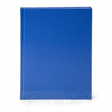 Ежедневник недатированный LITE  БУМВИНИЛ А5, 145×205 мм, 160 л., синий