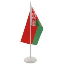 Флаг Беларуси на подставке, 12×24 см
