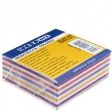 Блок бумаги для заметок «Куб», 85×85×35 мм, непроклеенный, 6 цветов