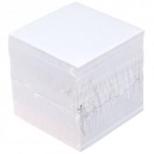 Блок бумаги для заметок «Куб», 85×85×85 мм, 65гр/м2, непроклеенный, белый