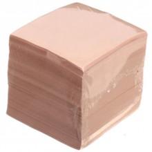 Блок бумаги для заметок «Куб», 90×90×90 мм, непроклеенный, персиковый