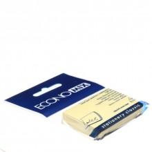 Бумага для заметок с липким краем Economix, 38×50 мм, 1 блок×100 л., желтая