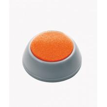 Губочница для увлажнения пальцев поролоновая Стамм, диаметр 40 мм, серая