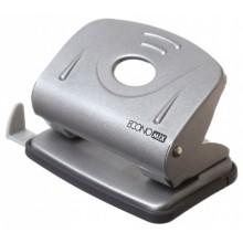 Дырокол Economix, 105×80 мм, 20 л., серебристый