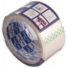 Клейкая лента упаковочная Klebebander, 50 мм×40 м, толщина ленты 40 мкм, прозрачная
