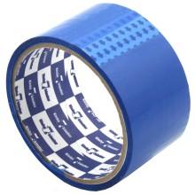 Клейкая лента упаковочная цветная Klebebander, 48 мм×25 м, толщина ленты 40 мкм, синяя