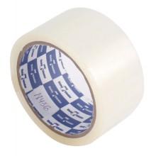 Клейкая лента упаковочная Klebebander, 50 мм×45 м, толщина ленты 45 мкм, прозрачная