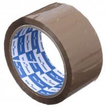 Клейкая лента упаковочная Klebebander, 50 мм×55 м, толщина ленты 40 мкм, коричневая