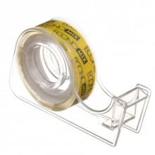 Диспенсер для клейкой ленты канцелярской с лентой Economix, 70×40×15 мм, для ленты шириной 12 мм