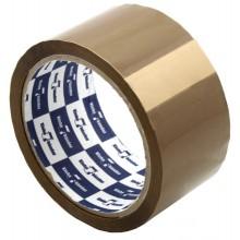 Клейкая лента упаковочная Klebebander, 48 мм×50 м, толщина ленты 40 мкм, коричневая