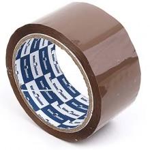 Клейкая лента упаковочная Klebebander, 48 мм×50 м, толщина ленты 45 мкм, коричневая