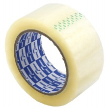 Клейкая лента упаковочная Klebebander, 48 мм×120 м, толщина ленты 40 мкм, прозрачная