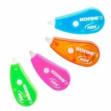 "Корректирующая лента в роллере Kores ""Roller mini"" 4,2 мм×3 м."