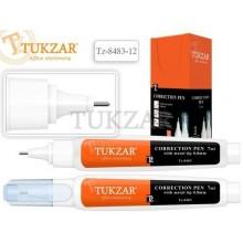 "Корректирующая ручка ""Tukzar"", 7 мл, металлический наконечник"