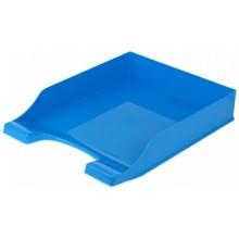 Лоток горизонтальный «Симметрия», 340×250×60 мм, голубой