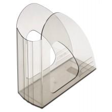 Лоток вертикальный Юниопт 2000, 240×240×90 мм, прозрачный дымчатый