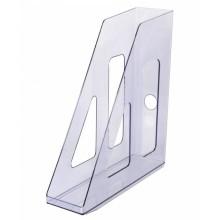 Лоток вертикальный Стамм «Актив», тонированный серый ЛТ513